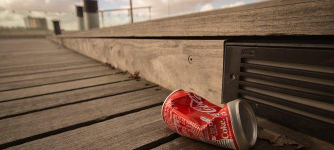 Coca Cola blikje